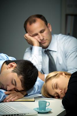 sleeping-at-office